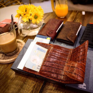 C-secure Card Holder / Wallet Classic Leather
