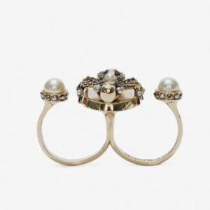 Alexander McQueen Double Spider Ring