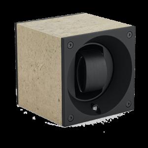 Swiss Kubik Single Watch master box Granite Stone Light