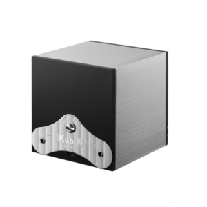 Swiss Kubik Double Watches master box Brushed Aluminium