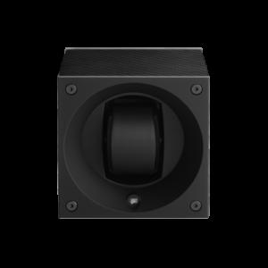 Swiss Kubik Single Watch master box Carbon Fiber Black