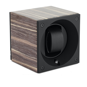 Swiss Kubik Single watch master box Shinny Varnish Gray Ash Wood