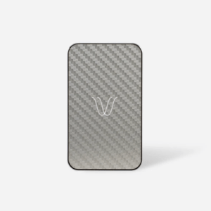 Woodie Milano Wireless Power Bank - Carbon Look Ash