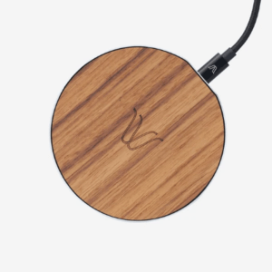 Woodie Milano Solo Wireless Charger - Teak