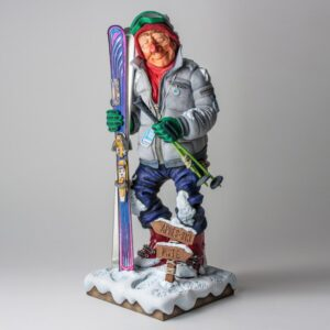 Forchino The Skier