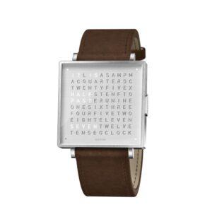 Qlocktwo W39 Fine Steel Watch