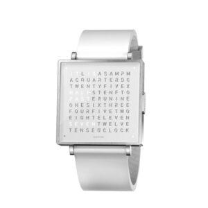 Qlocktwo W39 Pure White Watch