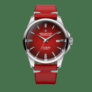 Meccaniche Veneziane Redentore Watch - Red