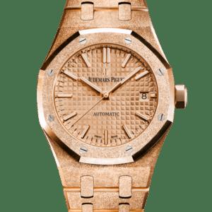 Audemars Piguet Royal Oak Frosted Gold Selfwinding Watch