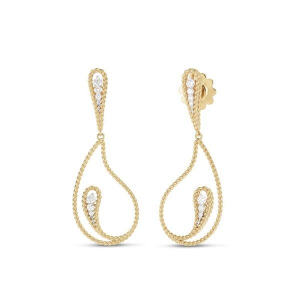 Roberto Coin Earrings | Diamonds | New Barocco