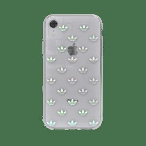 ADIDAS Original Trefoil Case for iPhone XR - Clear / Logo