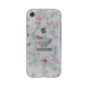 ADIDAS Original Trefoil Case for iPhone XR - Clear / Flowers