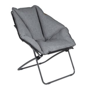 Bo-Camp Butterfly Chair Comfortable Bucket Seat With Padded Fabric
