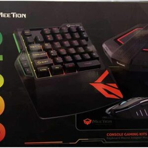 Meetion Combo 4 IN 1 wired keyboard set for Game Consoles Compatible to XBOX,PSP and Nintendo Switch- MT-CO015