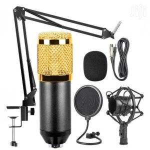 Professional Condenser Microphone With patented audio reference companding for crystal-clear sound