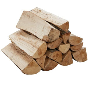 Birch Kiln Dried Hardwood Logs 40L Net. - Perfect Firewood for Camping, Wood Burning Stoves, Open Fires, and Log-Burners