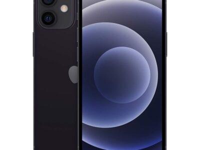 Apple iPhone 12 mini UAE Version-Without Facetime - black, 64GB