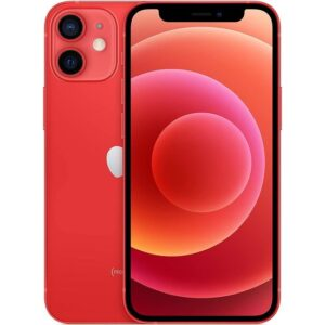 Apple iPhone 12 mini UAE Version-Without Facetime - Product Red, 64GB