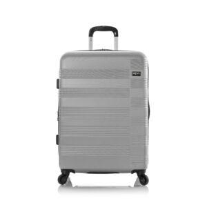 (product) Heys Runway 4W Trolley 66Cm - Silver