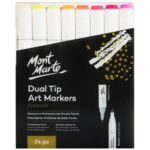 (product) Dual Tip Alcohol Art Markers 24Pc In Case